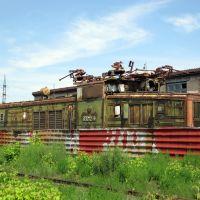 Кладбище электровозов /Cemetery electric locomotives, Коркино