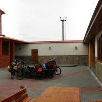 Кафе на развилке в Кунашаке, Кунашак