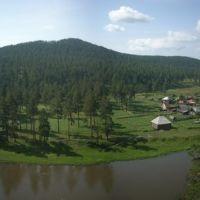 Гора Календарь, река Ай, Куса