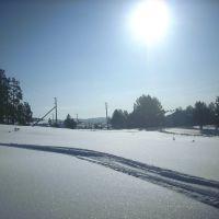 Вид в сторону котеджей (дорога на горбольницу), Куса
