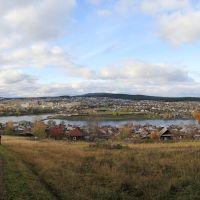 Вид с горы Моховой, Куса
