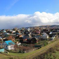 Улицы Лепёшкина, Чайкиной, Урицкого с горы Бузетки, Куса