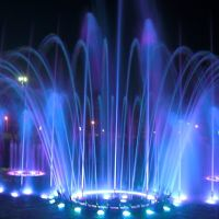 Фонтан у Курантов. Fountain, Магнитогорск