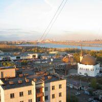 Мечеть Магнитогорск ММК подымливает, Магнитогорск