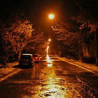 Улица красивых фонарей (Street of beautiful lanterns), Магнитогорск