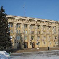 Главный учебный корпус Магнитогорского Государственного Технического Университета им. Г. И. Носова, Магнитогорск