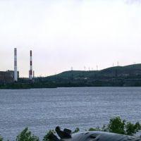 Река Урал, Магнитогорск