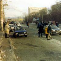 Tram_stop_Unost, Магнитогорск