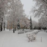 Институтский сквер, Магнитогорск