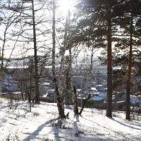 Солнечный зимний вечер / Sunny winter evening, Миасс