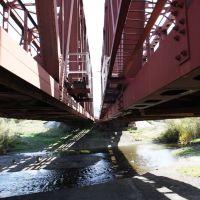 Железнодорожный мост. р.Миасс / Railway bridge. Miass river, Миасс