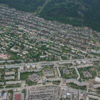 ул. 8-ого Марта. Вид с воздуха / Miass. Avtozavod district, Миасс
