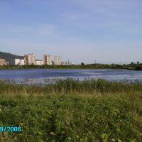 Miass river, Миасс
