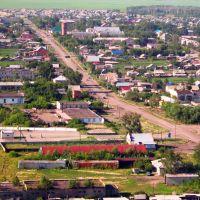 Село с высоты птичьего полета, Октябрьское