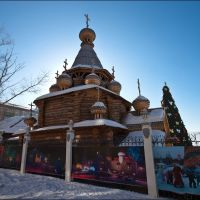 Деревянная церковь, Сатка