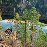 Осень на реке Сим., Сим