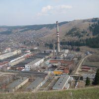 Вид с Доменной на Симский завод. Май 2009 г, Сим