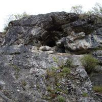 Пещера над симским прудом, Сим