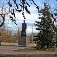 Памятник С.Д. Павлову, Троицк