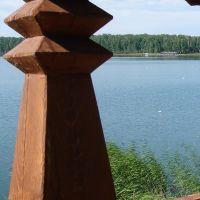 Belvedere over lake, Увельский