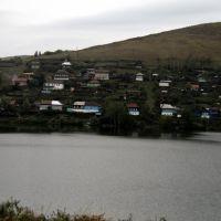 вид с горы на пруд, Усть-Катав