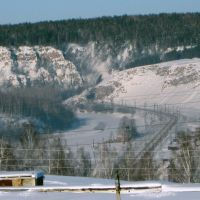 вид из окна, Усть-Катав