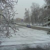 2 мая 2009года.Снег., Чебаркуль