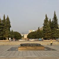 Chelyabinsk, Eternal Flame, Aug-2008, Челябинск