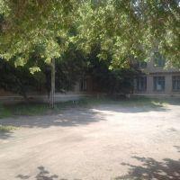 дворик школы № 3 (13,08,2011), Южно-Уральск