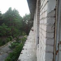 Экстрим для  пейнтболистов в санатории Сосна. 2013