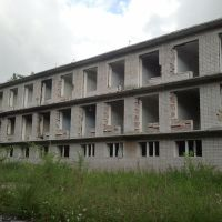 Санаторий сосна, теперь рай для  пейнтболистов 2013 год, Южно-Уральск