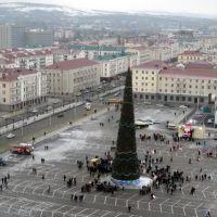 Новогодняя елка 2009, Грозный