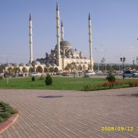 The mosque in Grozny, Грозный