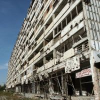 Ул. Ленина, Grozny, Chechnya, 2003, Грозный