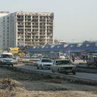 Рынок, Groznyi, Chechnya, 2004, Грозный