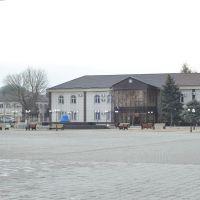 Здание администрации на площади, Наурская