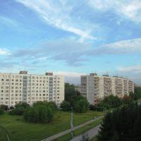Краснообск после дождя, Советское