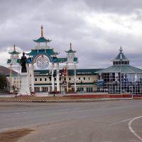 Площадь в Агинске, Агинское