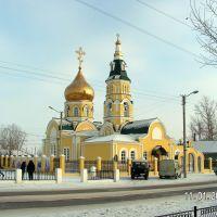 Церковь зимой, Агинское
