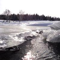 Ледостав  freezing, Акша