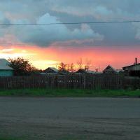 Закат, улица Пушкина, Борзя