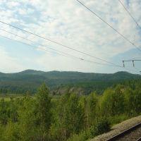 Забайкальская тайга, трансиб, Давенда