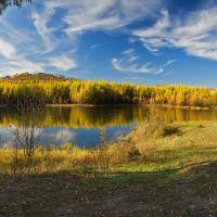 Озеро Первая драга, Давенда