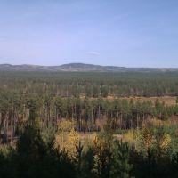 Вид на долину, Дровяная