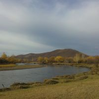 Осень на реке Иля, Дульдурга