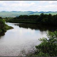 Mongolia and Russia border river 01, Жиндо