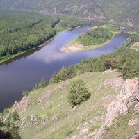 Вид на Устье р. Менза, Жиндо