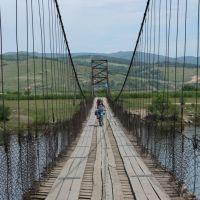 Висячий мост через Чикой, Жиндо