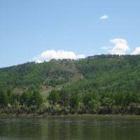 Chikoi river near  of Ust-Urluk, Жиндо