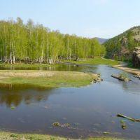 река Шибертуй, Жиндо